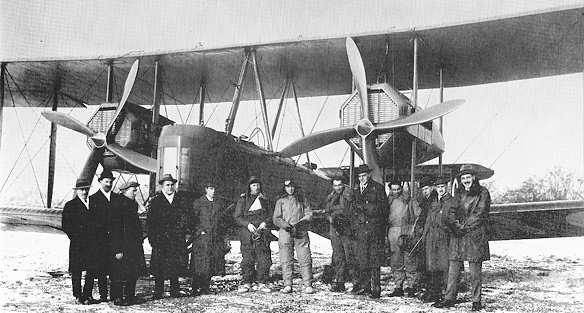 First flight to Australia from Hounslow Heath 1919