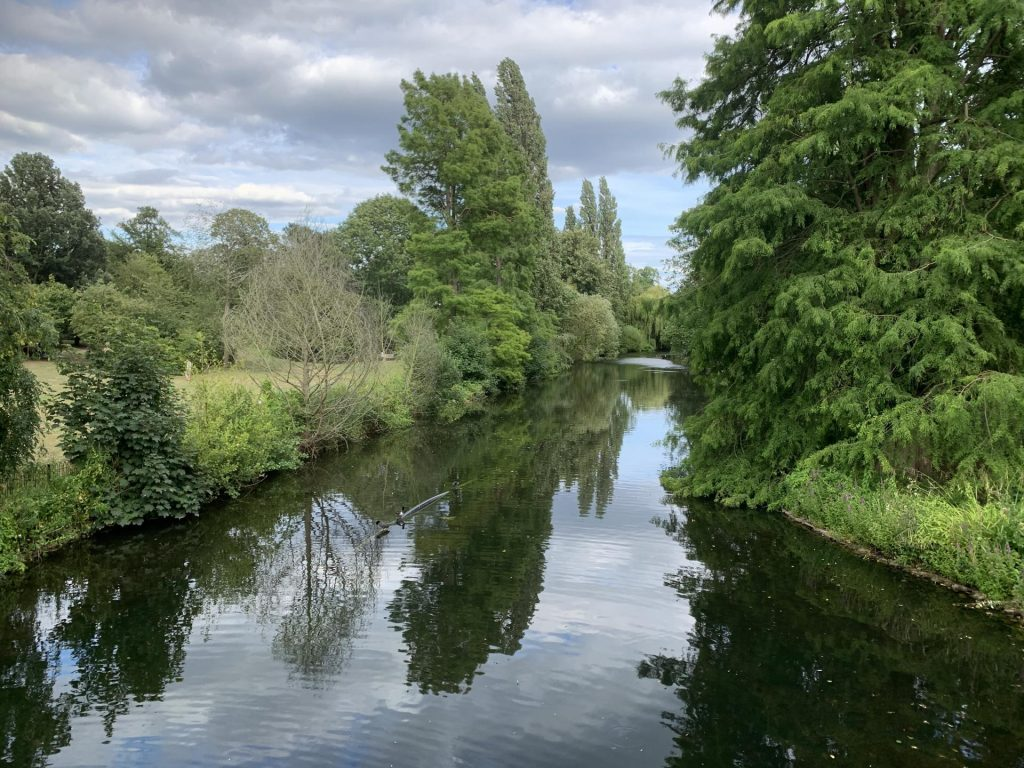 Chiswick House Grounds - Lake
