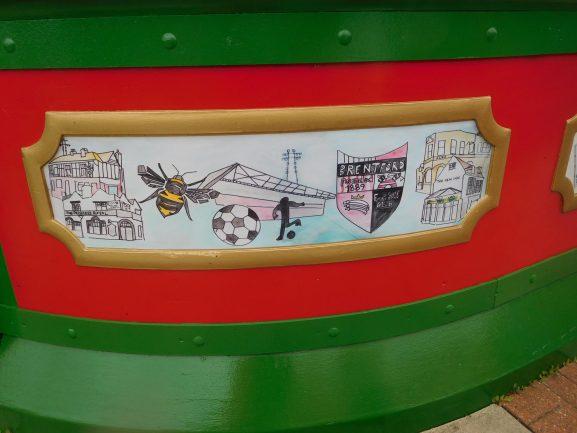 Brentford Bees panel